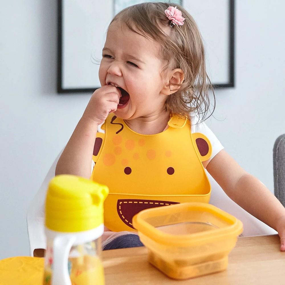 Marmitinha Para Refeição Ou Snack - Marcus & Marcus Girafa  - Encanto Baby