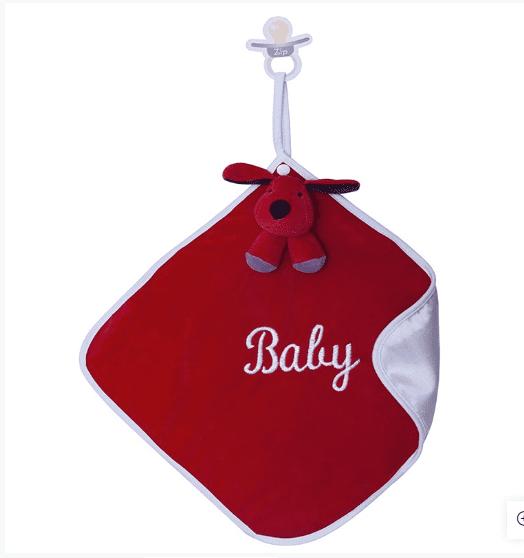 Naninha de Pelúcia Macia Cachorro Greg Cetim  - Encanto Baby