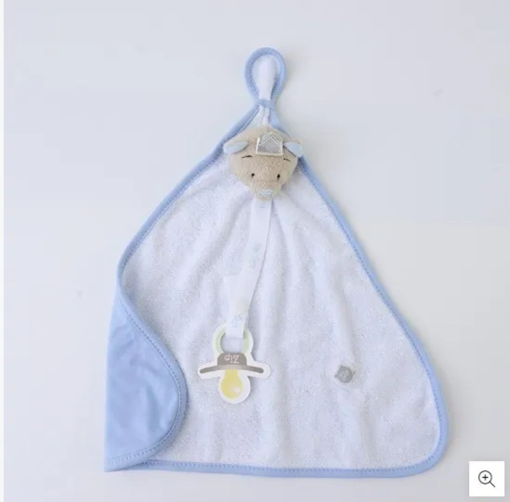 Naninha Para Bebê c/Prendedor De Chupeta Príncipe Zip Toys