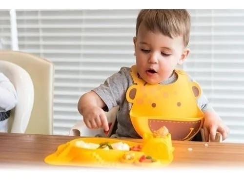 Prato Divertido Marcus & Marcus Amarelo  - Encanto Baby