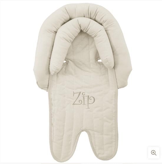 Protetor Bebê Conforto Carrinho Com Apoio De Cabeça Zip Toys Bege