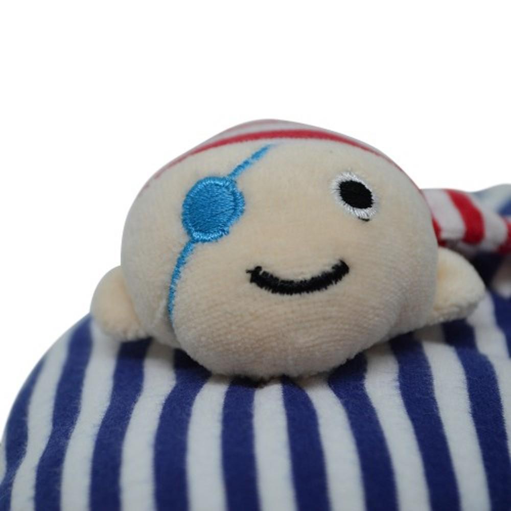 Protetor De Pescoço C/prendedor De Chupeta Pirata Zip Toys  - Encanto Baby