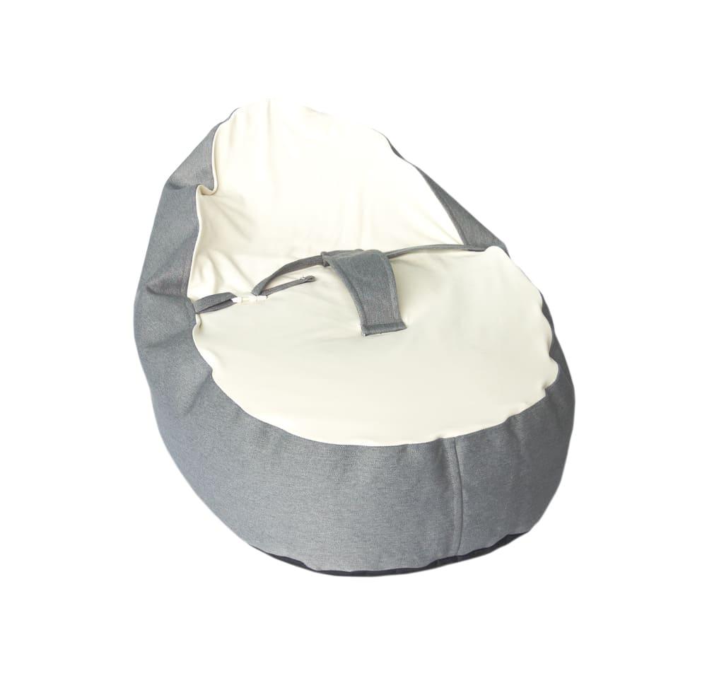 Puff Ninho Cinza Baby Pil com Cinto de Segurança 2 em 1 RN-03 anos