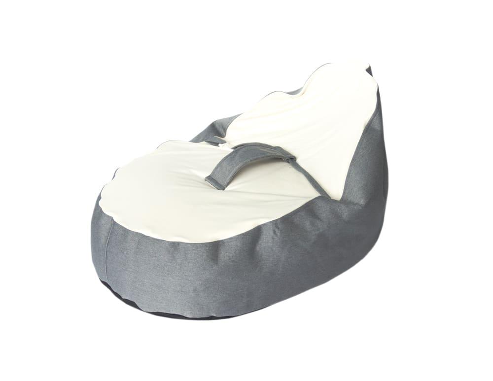 Puff Ninho Cinza Baby Pil com Cinto de Segurança 2 em 1 RN-03 anos  - Encanto Baby