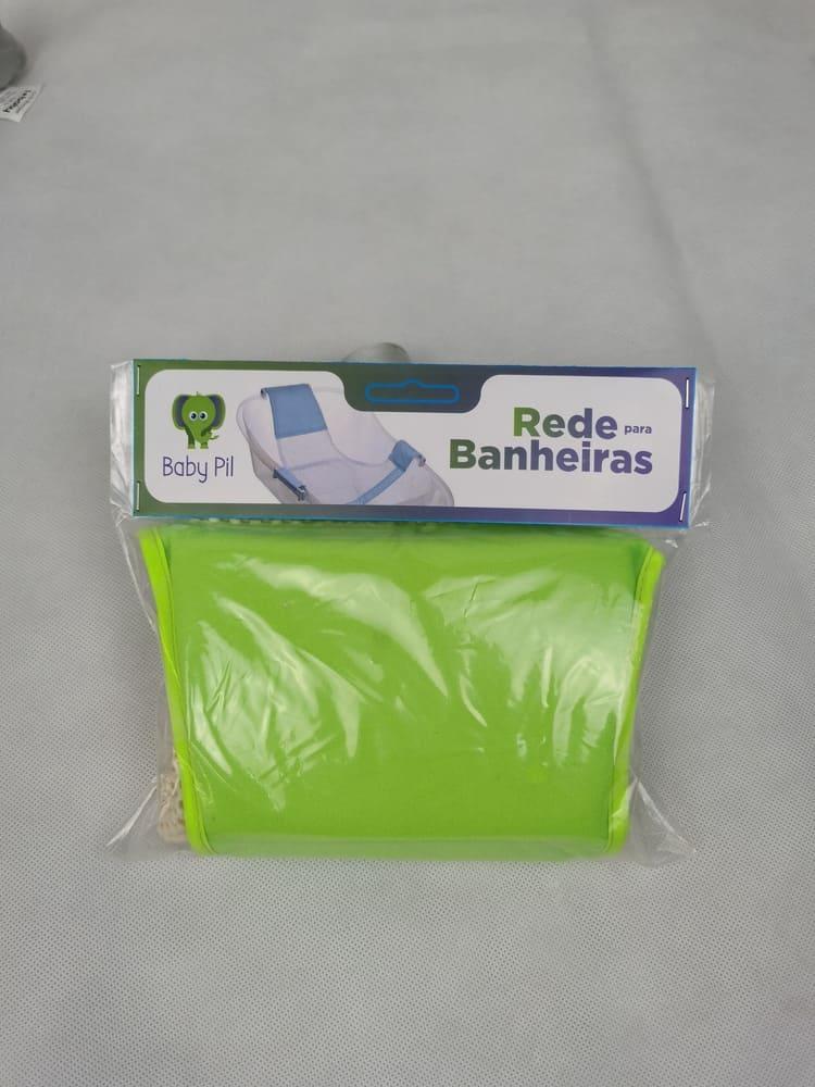 Rede de banheira Baby Pil Verde  - Encanto Baby