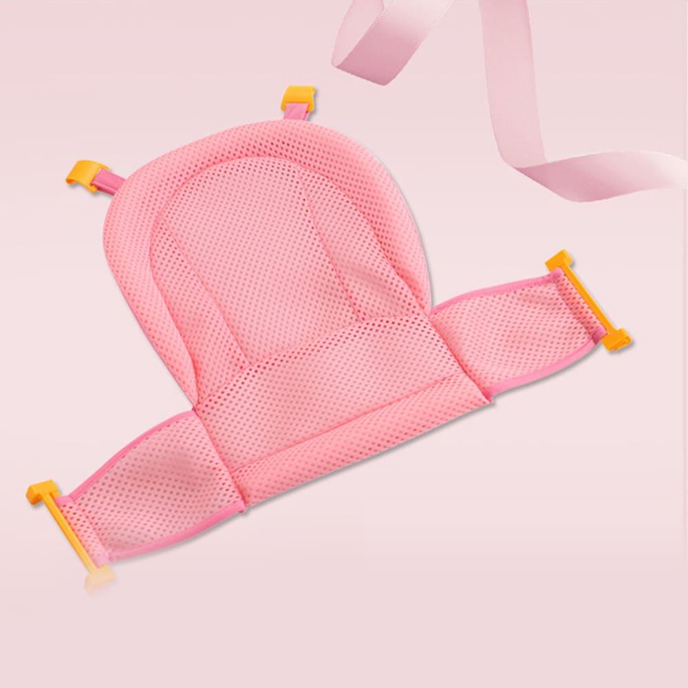 Rede de banheira Premium Baby Pil Rosa