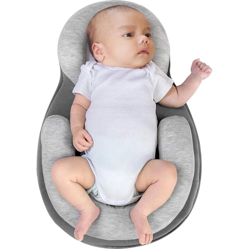 Redutor De Berço Cinza Baby Pil  - Encanto Baby