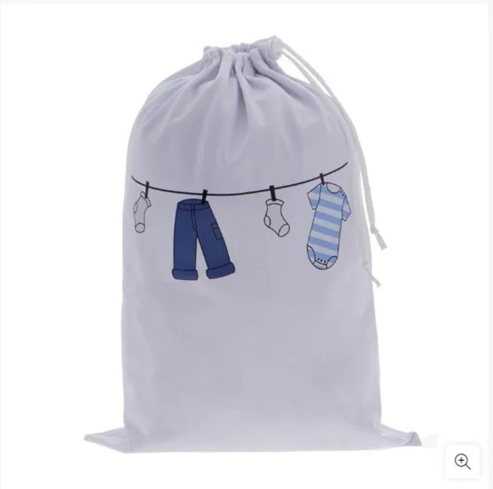 Saco Impermeável Zip Toys Varal Azul