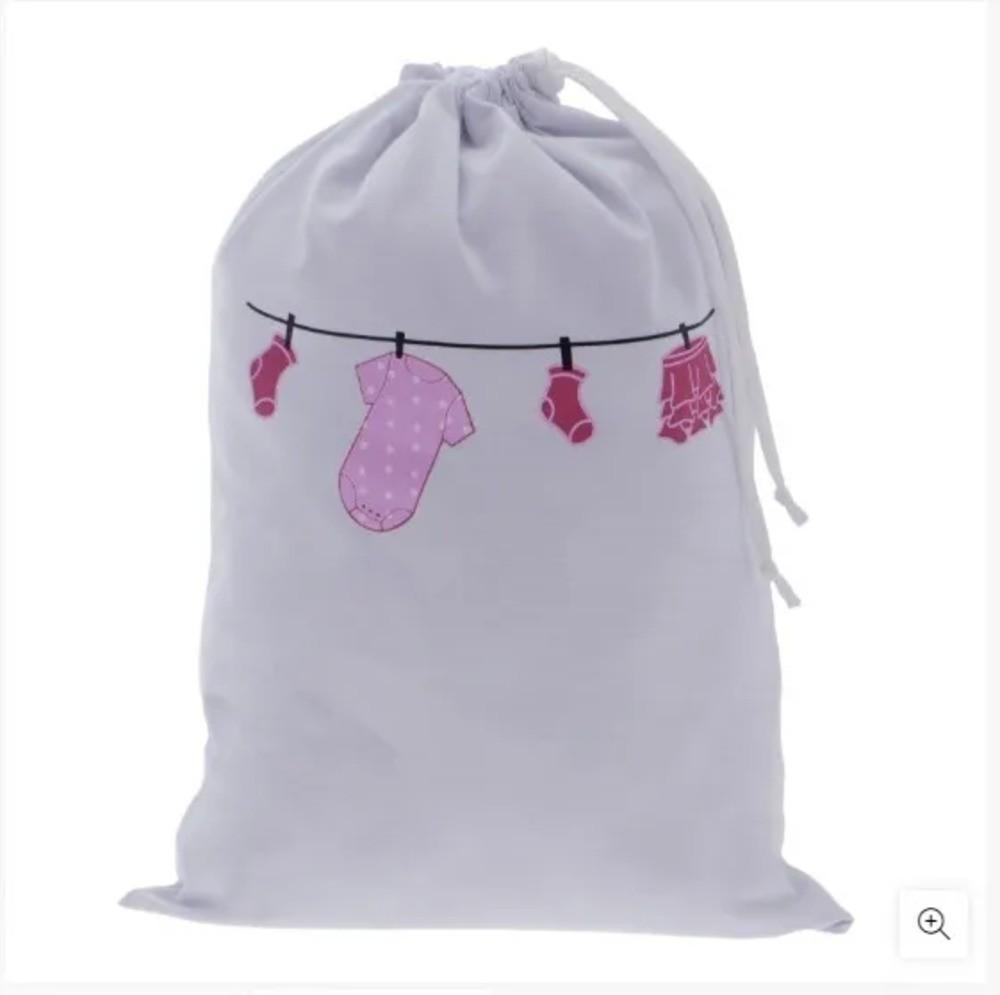 Saco Impermeável Zip Toys Varal Rosa  - Encanto Baby