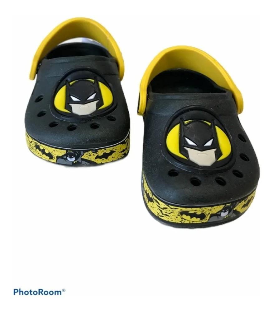 Sandália Babuche Infantil Batman