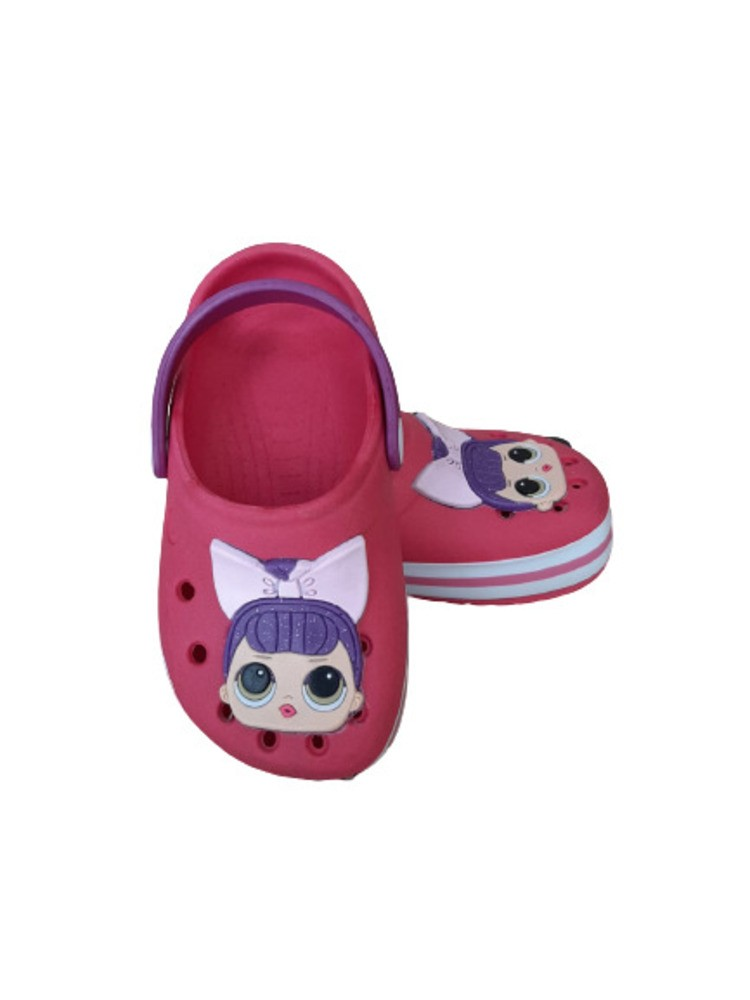 Sandália Babuche Infantil LOL Laço Rosa  - Encanto Baby