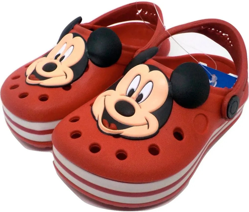 Sandália Babuche Infantil Mickey  - Encanto Baby