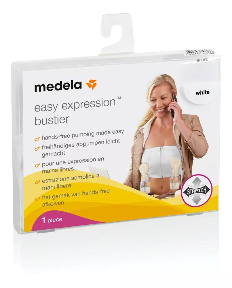 Sutiã Para Extração De Leite Easy Expression Medela Tam M  - Encanto Baby