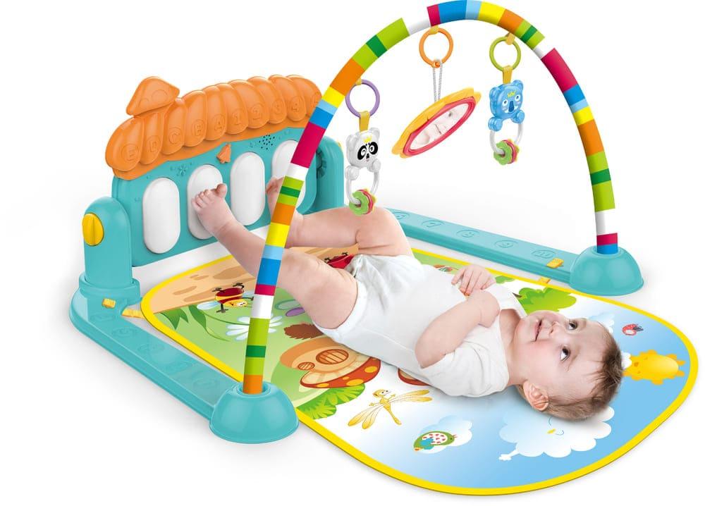 Tapete De Atividades Infantil Piano Musical Villa Color Baby