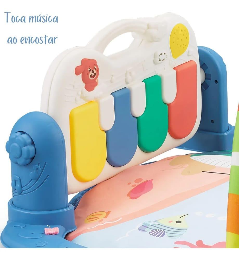 Tapete De Atividades Musical Recarregável Cabo Usb  - Encanto Baby