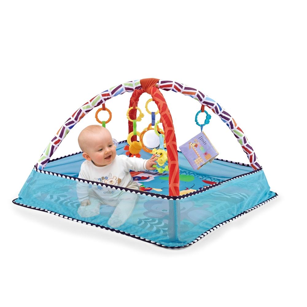 Tapete De Atividades Para Bebê Com Bolinhas Park Color Baby