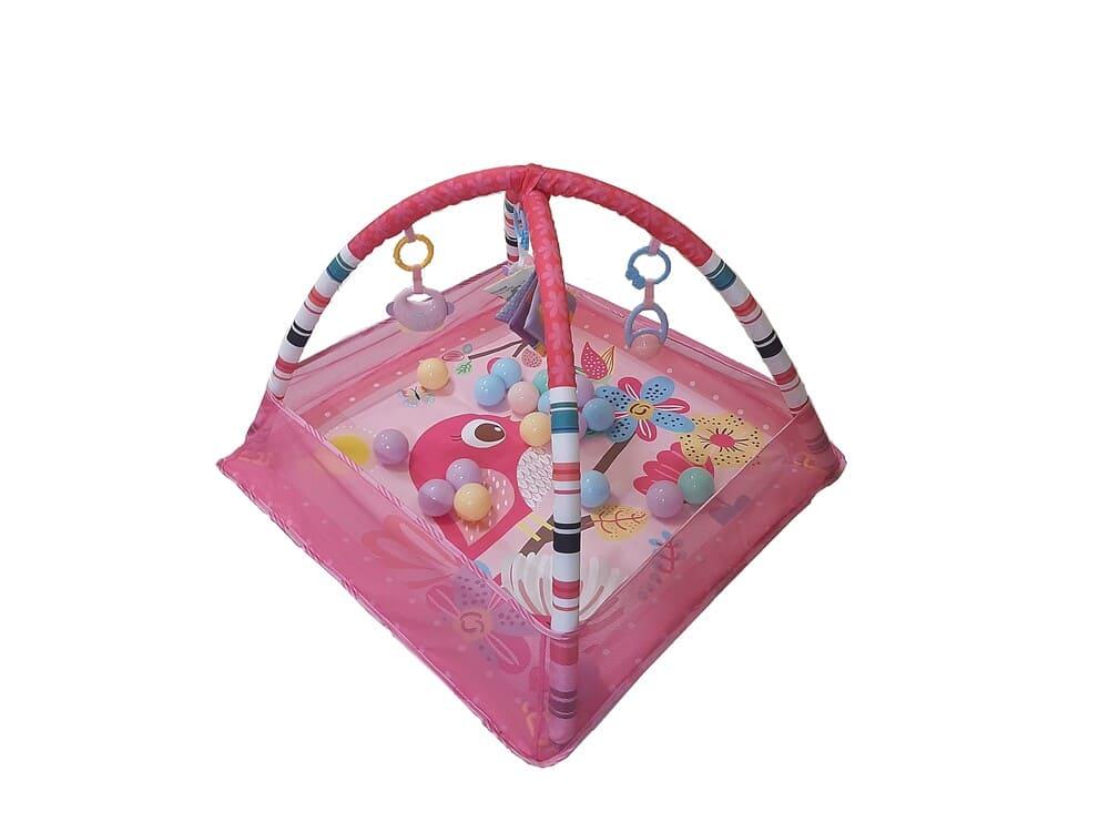 Tapete De Atividades Para Bebê Com Bolinhas Park Color Baby  - Encanto Baby