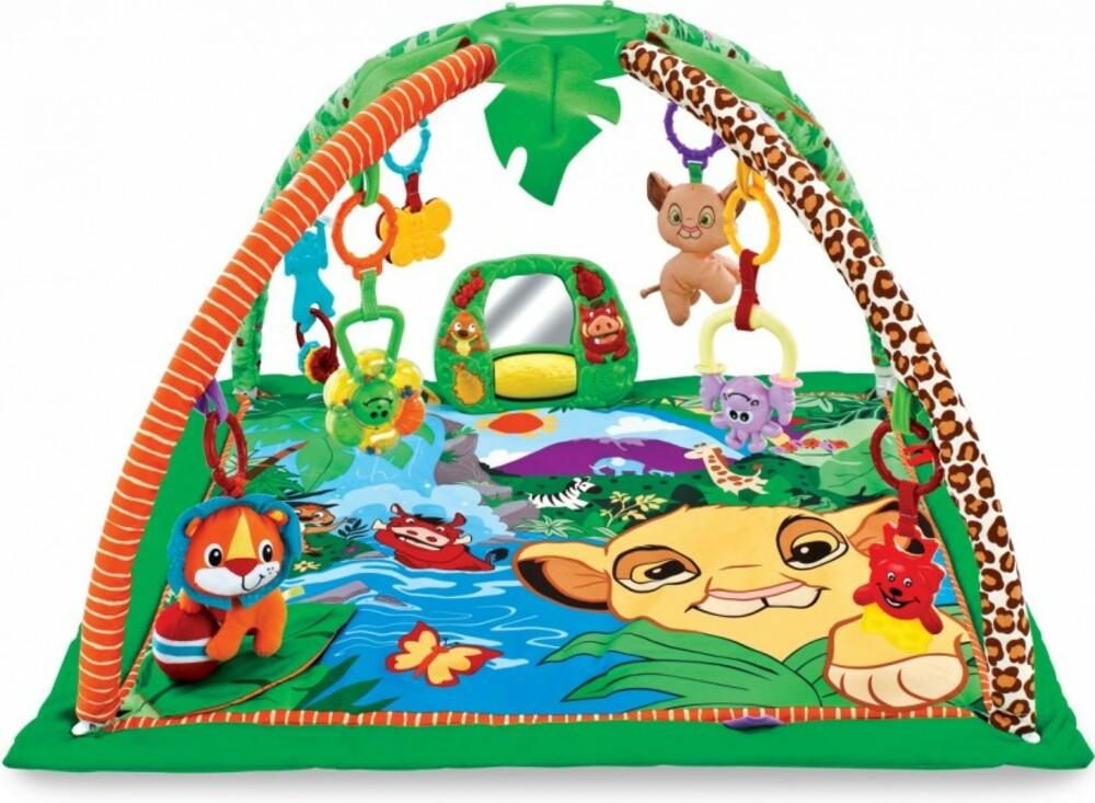 Tapete De Atividades Para Bebê Selva Color Baby