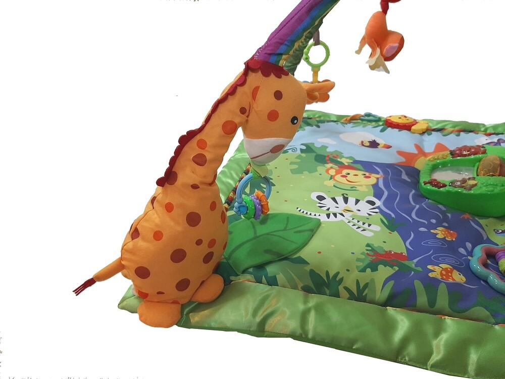 Tapete De Atividades Para Bebê Selva Color Baby  - Encanto Baby