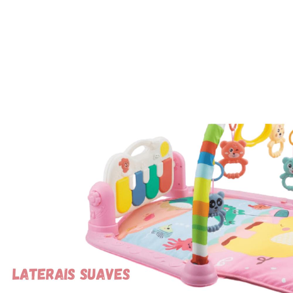 Tapete De Atividades Piano Musical  Piano Alegria Com Cabo Usb  - Encanto Baby
