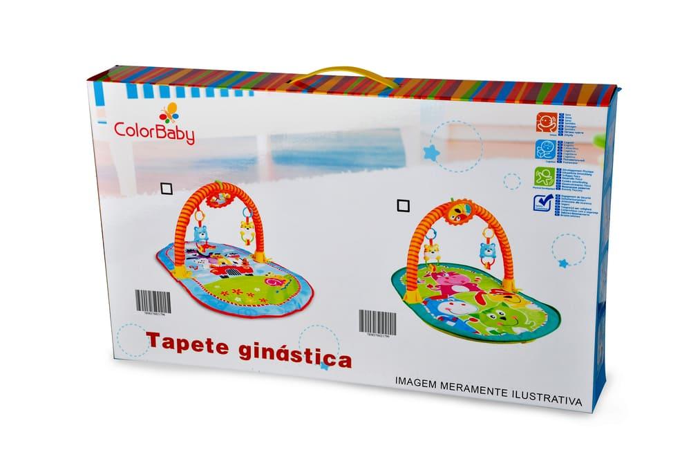 Tapete De Atividades Portátil Bebê Acolchoado Zoo Ginástica  - Encanto Baby