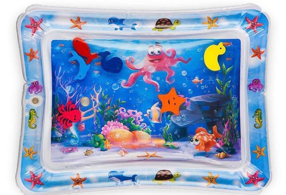 Tapete Infantil Inflável Água Atividades Color Baby  - Encanto Baby