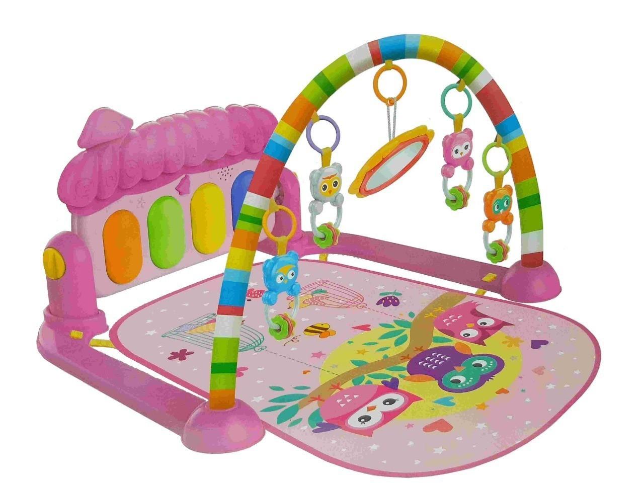 Tapete Joy De Atividades Com Piano Musical Color Baby