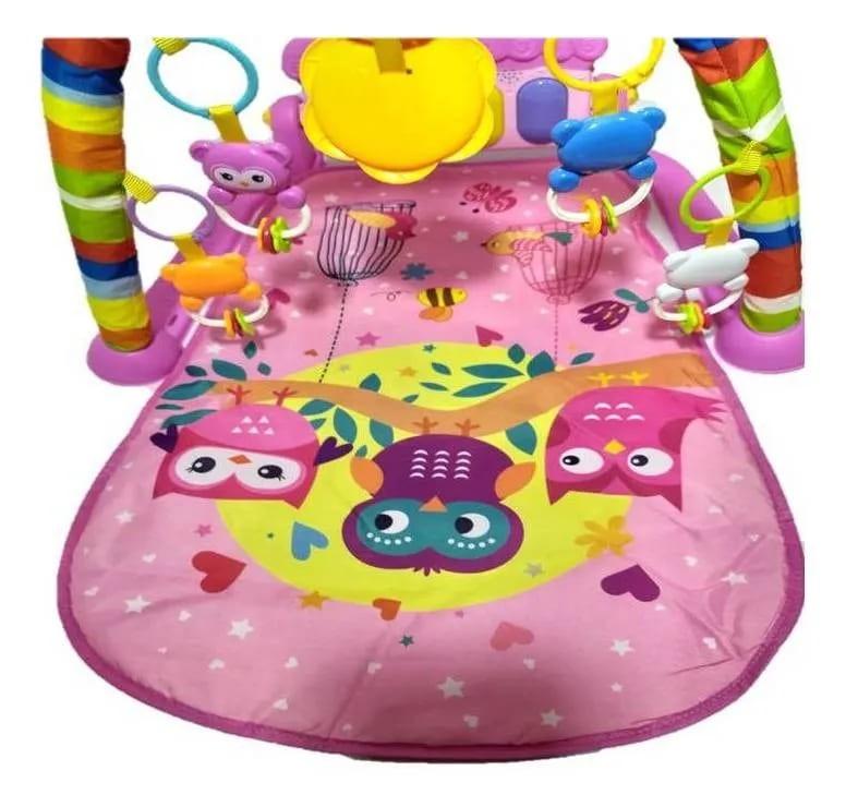 Tapete Joy De Atividades Com Piano Musical Color Baby  - Encanto Baby