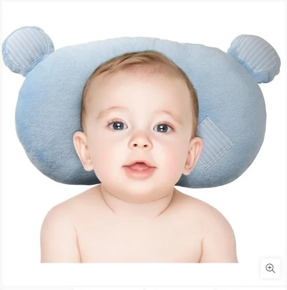Travesseiro Para Bebês Ursinho Zip Toys Rosa  - Encanto Baby