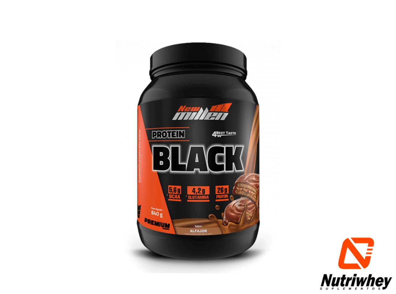 4W Protein Black - Premium Séries | New Millen | 840g