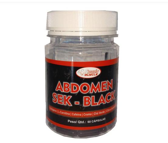 ABDOMEN SEK - BLACK (60 CAPS) - BODY MUSCLE
