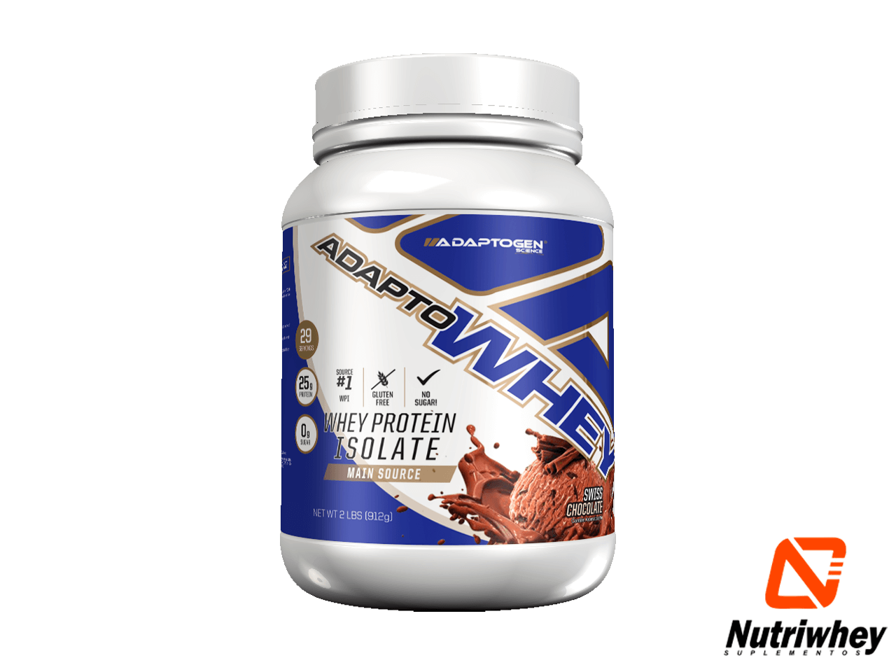 Adapto Whey Isolado | Adaptogen | 912g