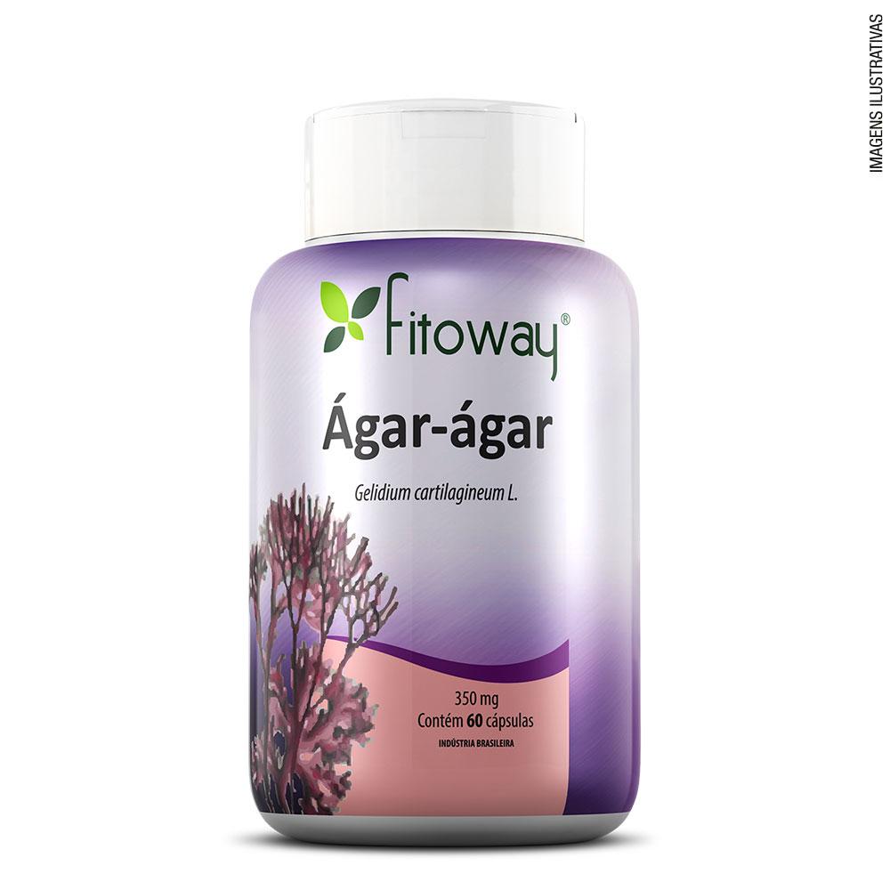 ÁGAR-ÁGAR (60CAPS) GELIDIUM CARTILAGINEUM L. - FITOWAY