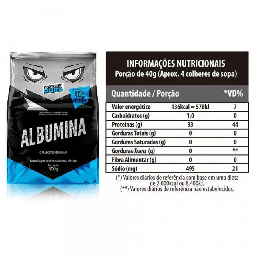Albumina | Proteina Pura | 500g