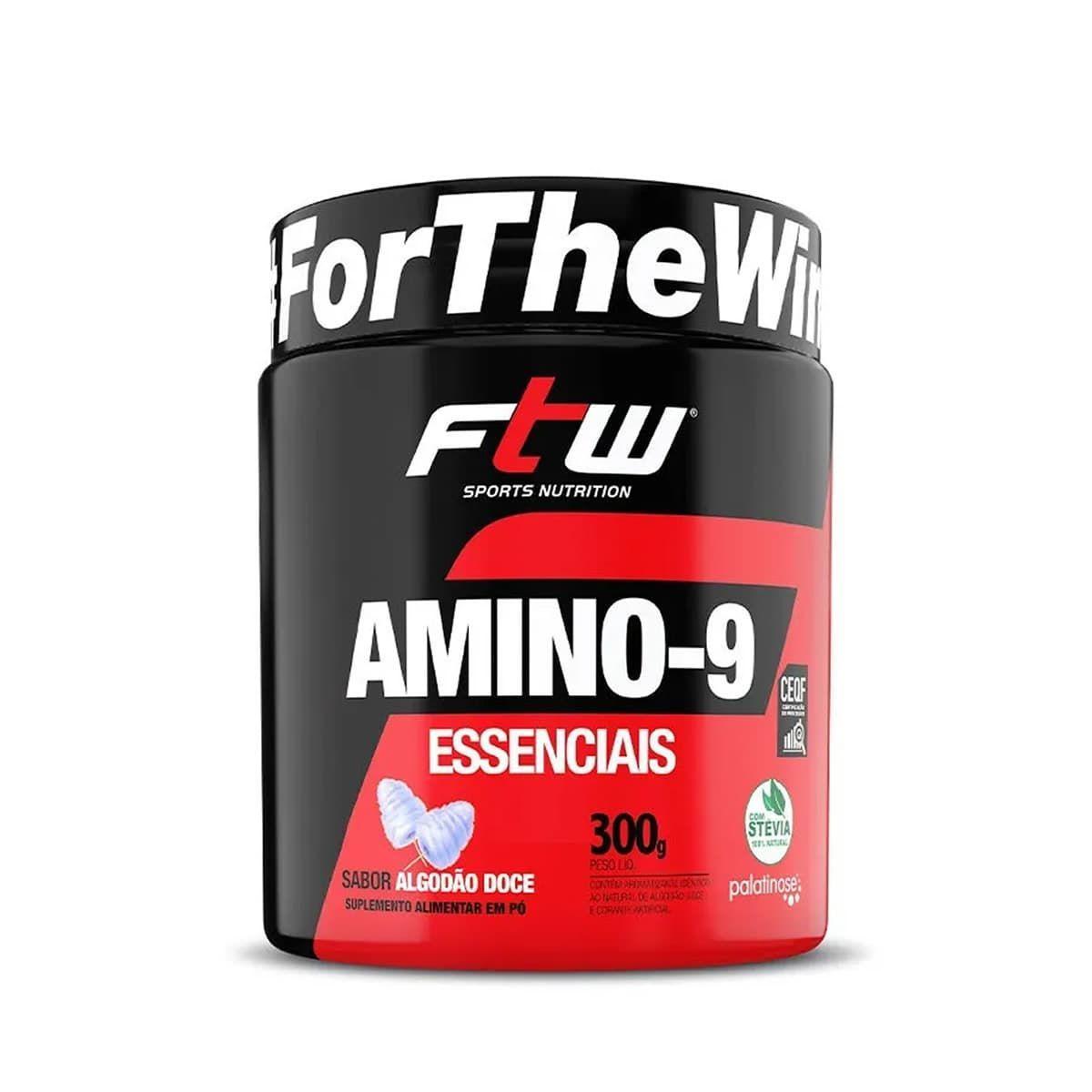 AMINO-9 ESSENCIAIS| 300G|FTW