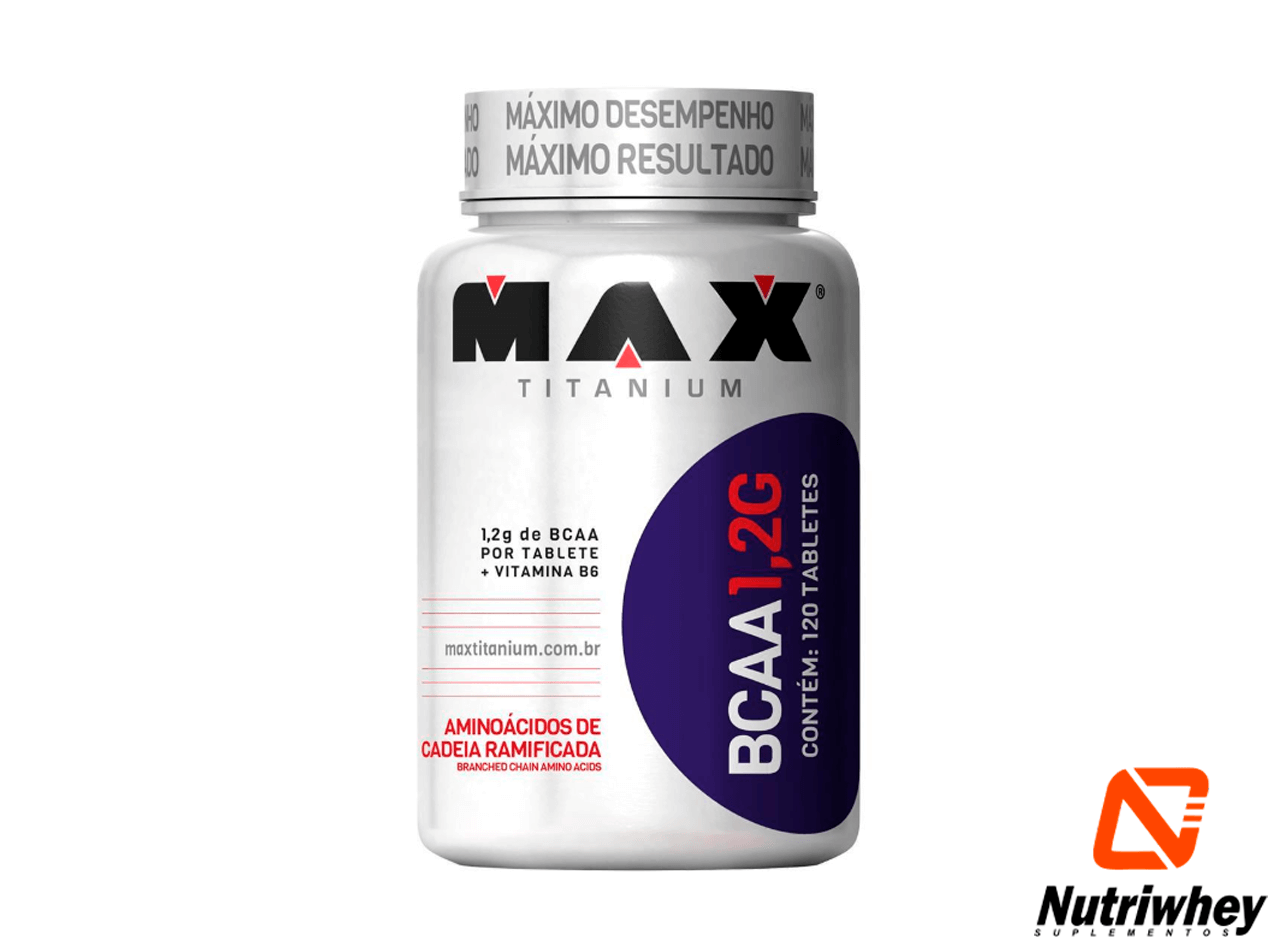 BCAA 1,2g | Max Titanium | 120 Tablets