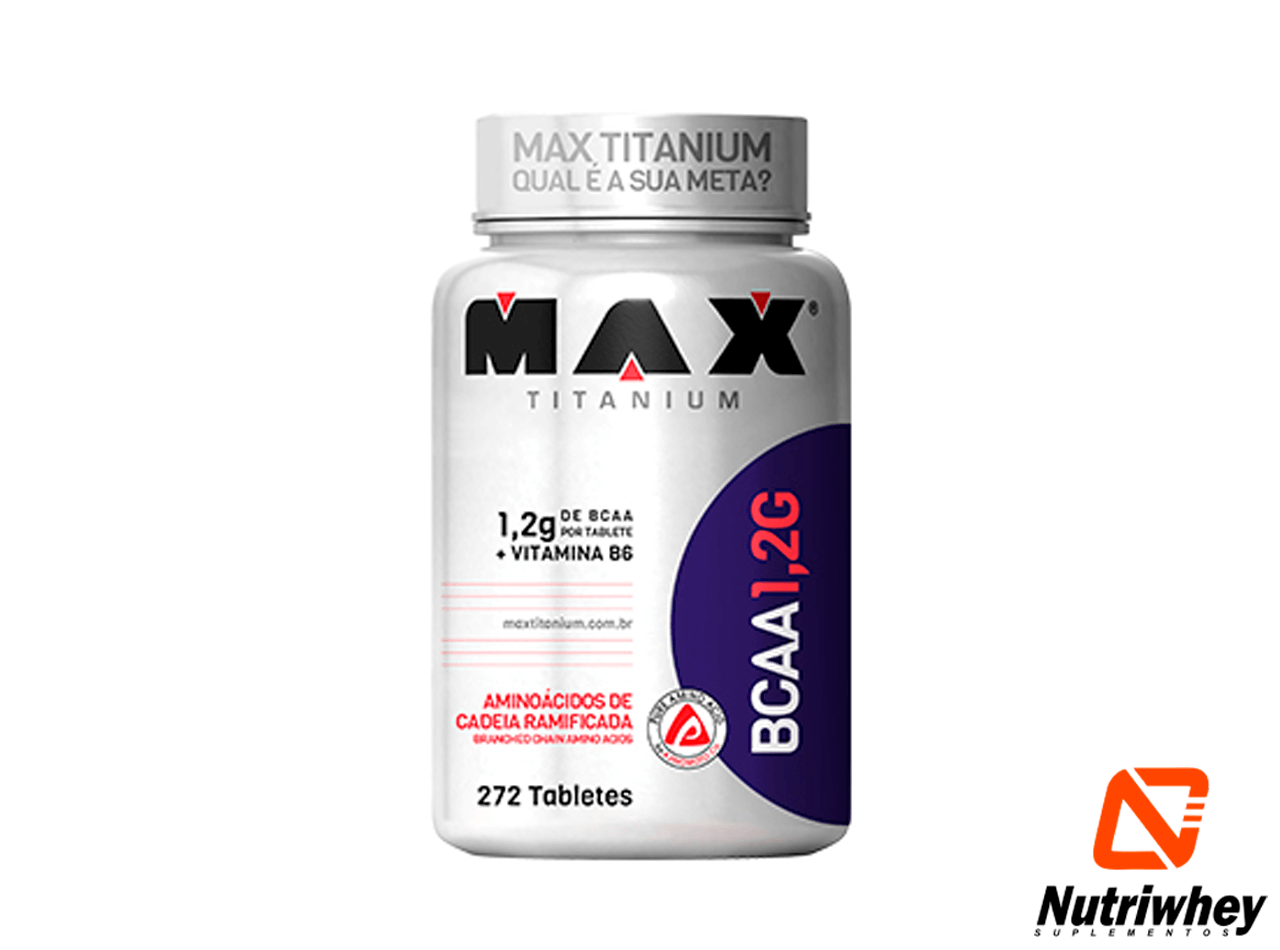 BCAA 1,2g | Max Titanium | 272 Tablets