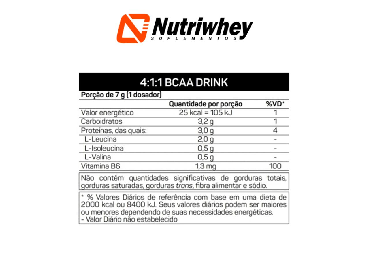 BCAA 4:1:1 Drink | Max Titanium | 280g