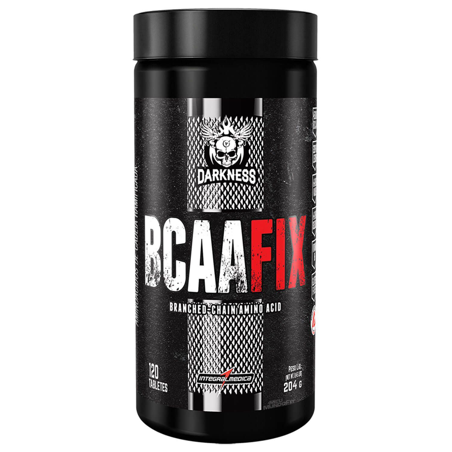 BCAA FiX | Darkness - Integral Médica | 120 Tablets