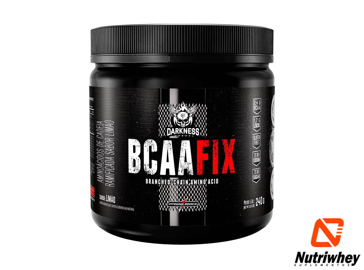 BCAA Fix Powder | Darkness - Integral Médica | 240g