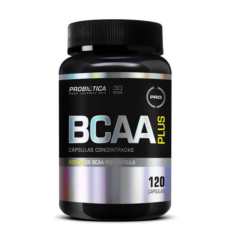 BCAA PLUS |120CAPS |PROBIOTICA