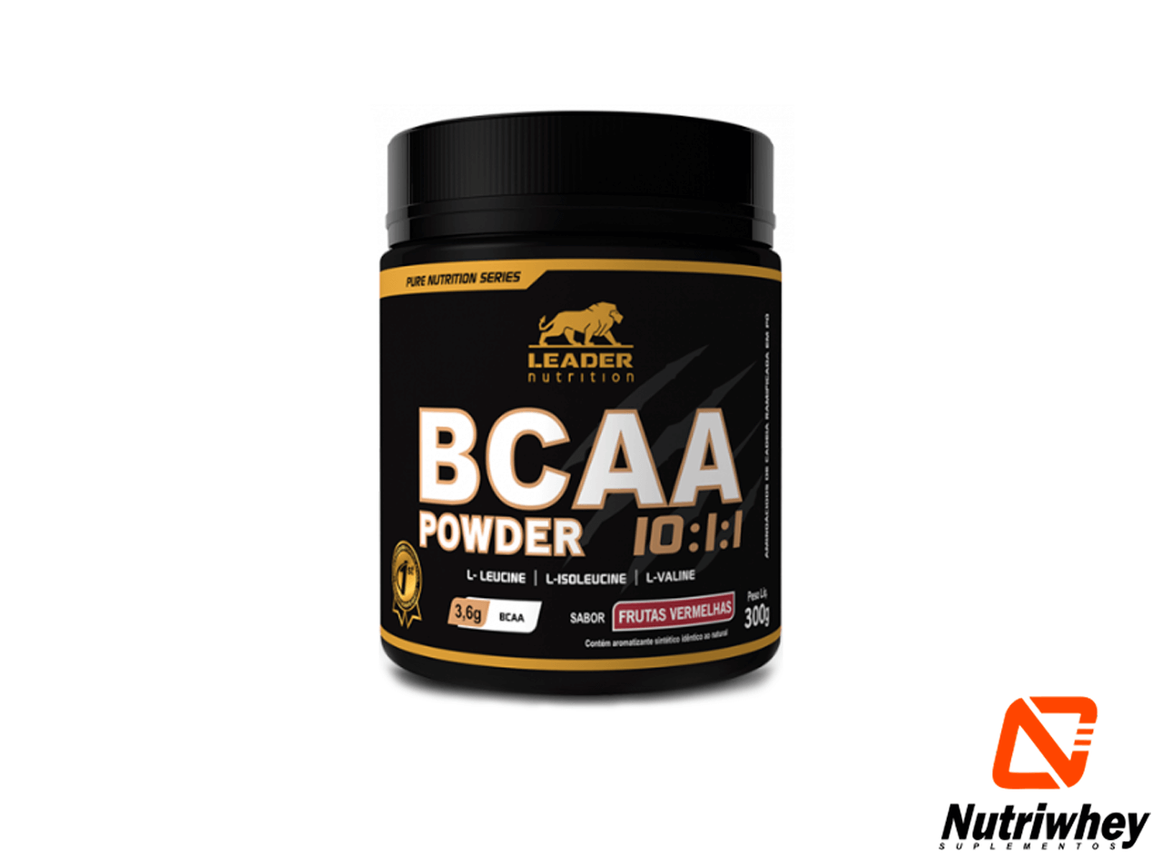 BCAA Powder 10:1:1 3600mg | Leader Nutrition | 300g
