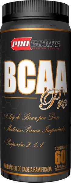 BCAA Pro | Pro Corps | 60 cápsulas