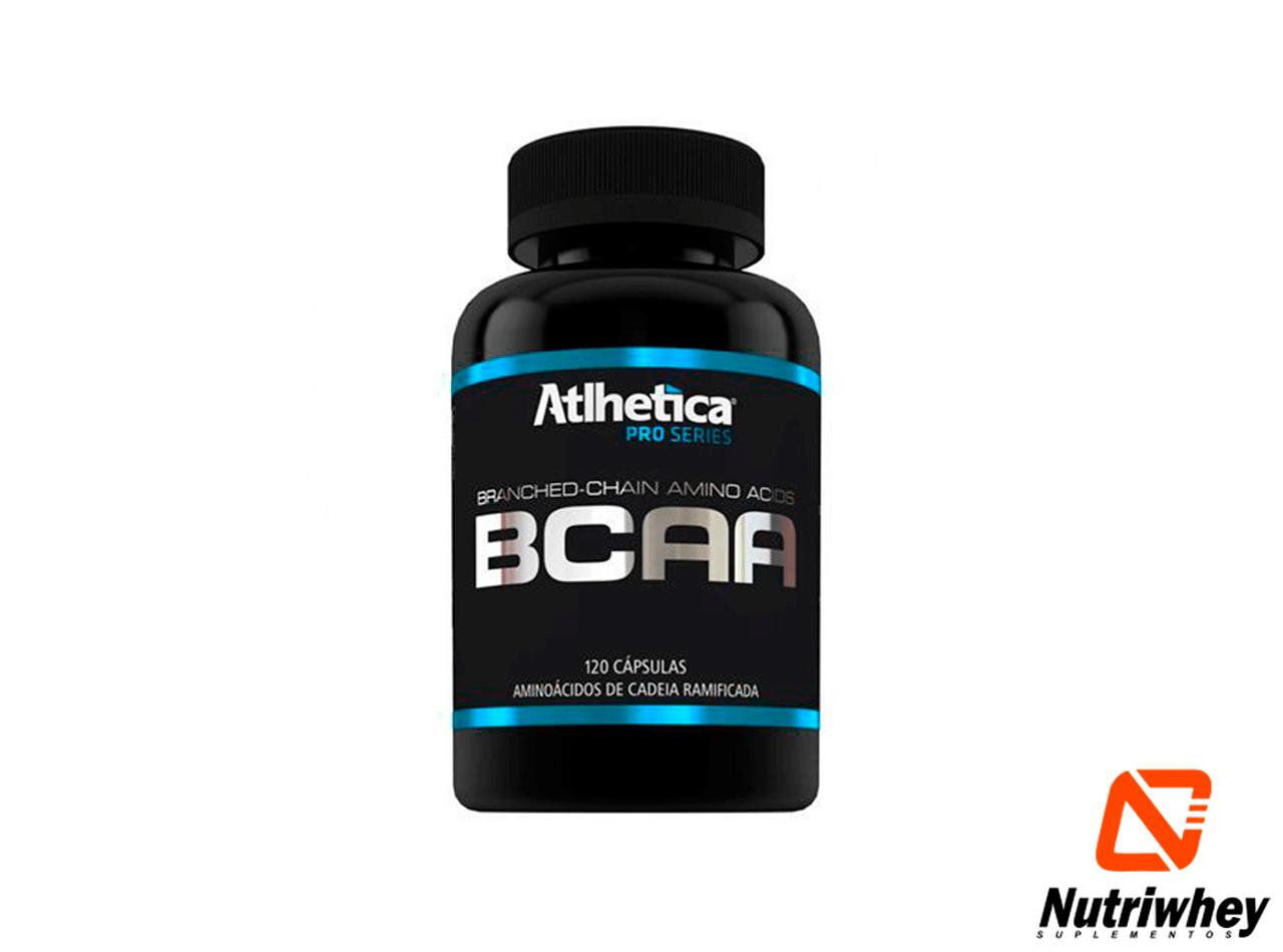 BCAA Pro Series | Atlhetica Nutrition | 120 Cápsulas