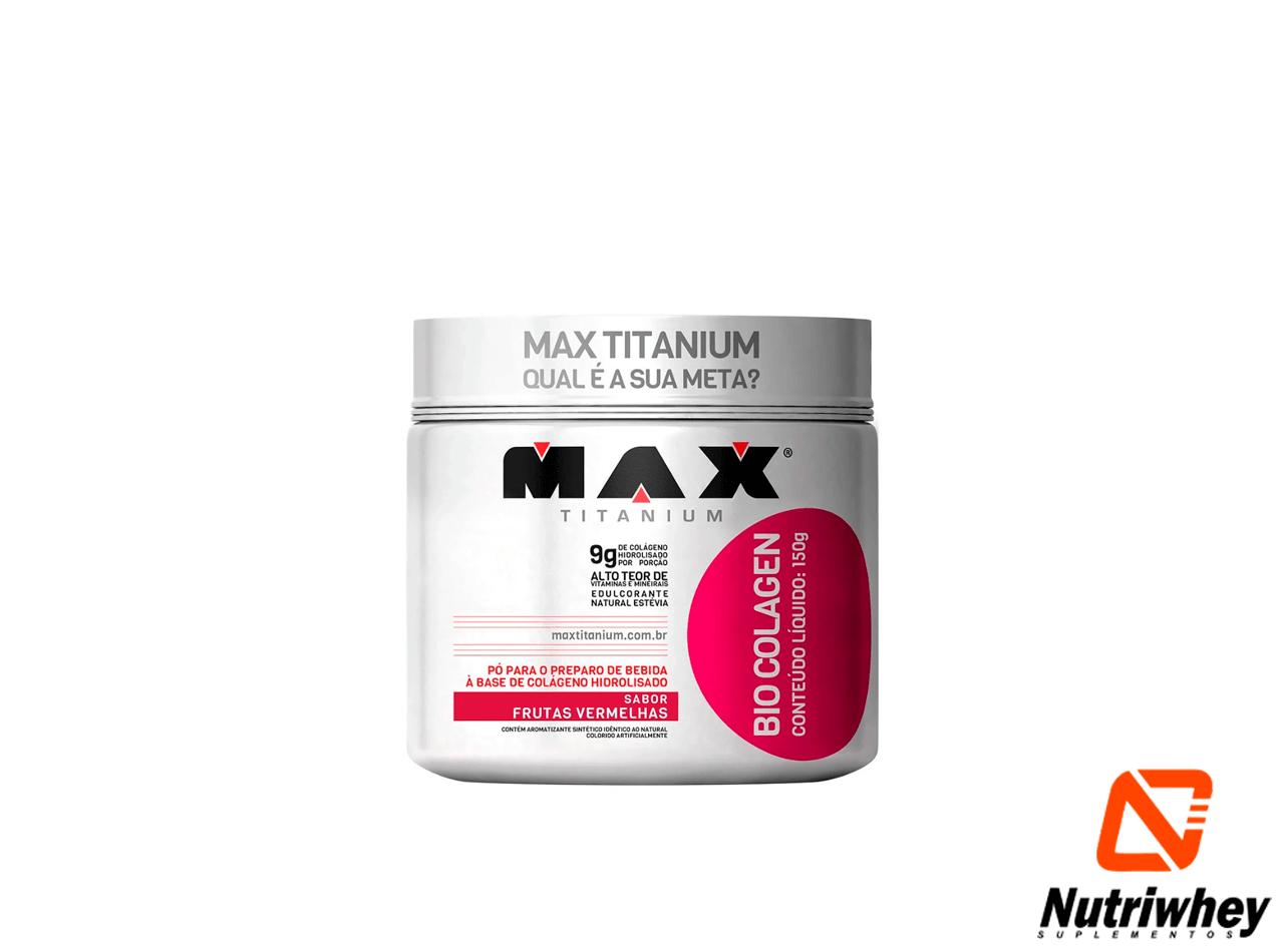 Bio Colagem | Max Titanium | 150g