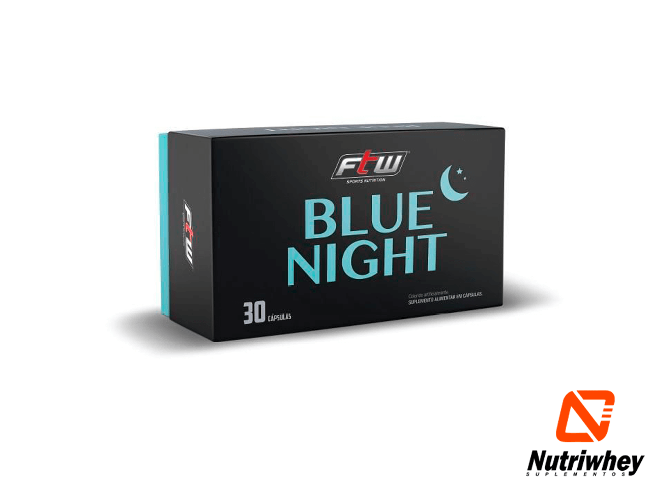 Blue Night | FTW | 30 Cápsulas