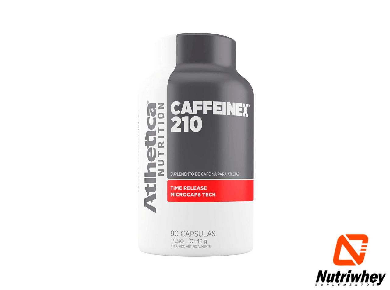 Caffeinex 210 | Atlhetica Nutrition | 90 Cápsulas