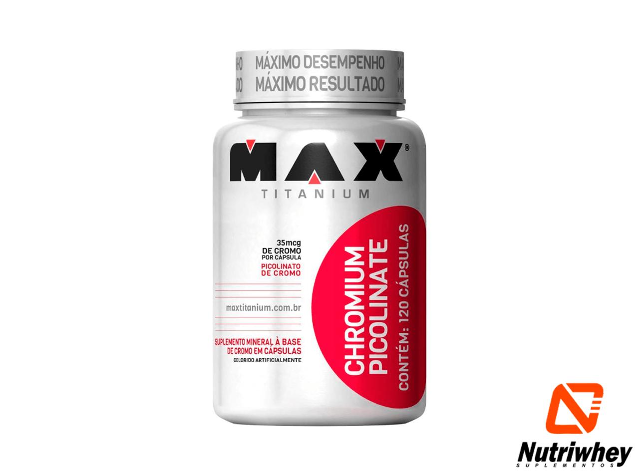 Chromium Picolinate | Max Titanium | 120 Cápsulas