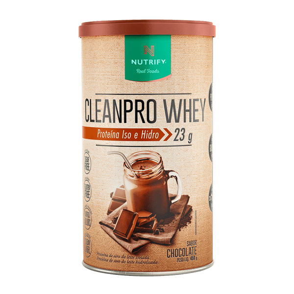 Clean Pro Whey ( 450g ) Chocolate - Nutrify