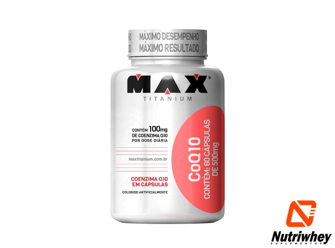 Coezima Q10 coQ10 | Max Titanium | 60 Cápsulas